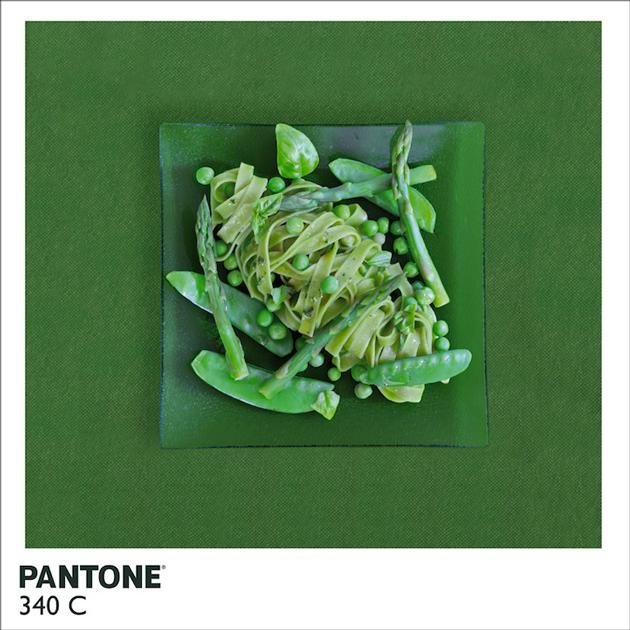 Pantone Food par Alison Anselot