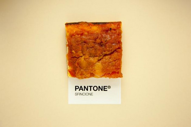 sicilician Food as Pantone